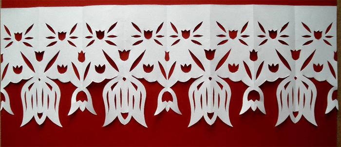 Шторки из бумаги своими руками шаблоны
